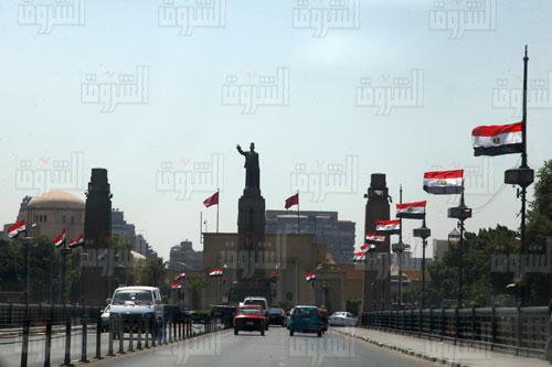 علم مصر احتفالا بأفتتاح قناة السويس تصوير احمد عبد الجواد