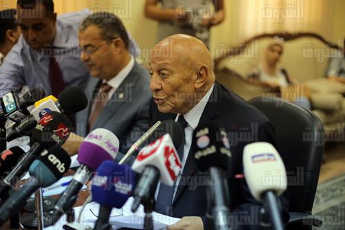 محمد فايق رئيس المجلس القومي لحقوق الإنسان - تصوير: روجيه أنيس