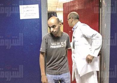 عينات DNA مستشفى معهد ناصر تصوير -  ابراهيم عزت