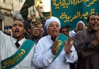مسيرة للقوى الصوفية الجامع الأزهر