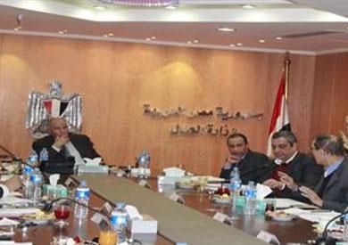 اجتماع وزير العدل مع لجنة التشريعات الاعلامية