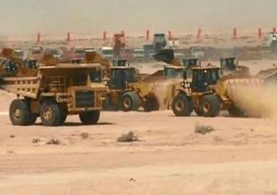 أعمال حفر قناة السويس الجديدة