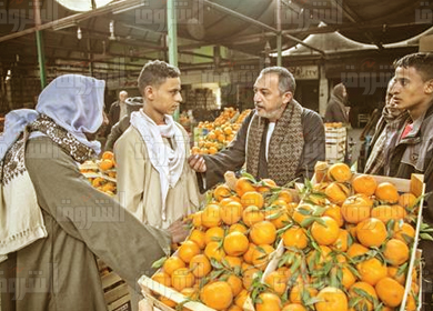 سوق العبور تصوير ابراهيم عزت
