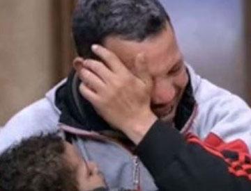 المواطن منصور قرني، والد الطفل أحمد منصور المحكوم عليه بالسجن المؤبد