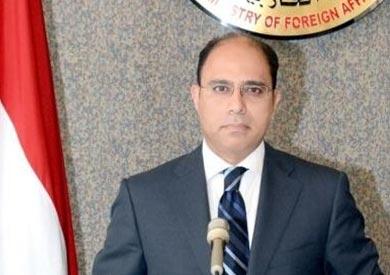 المستشار أحمد أبو زيد، المتحدث باسم وزارة الخارجية
