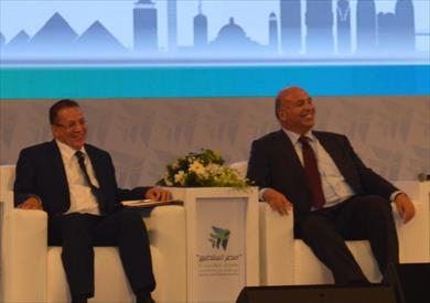 الدكتور أحمد هيكل خلال مؤتمر مصر تستطيع