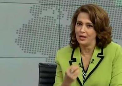 الإعلامية صفاء حجازى رئيس اتحاد الإذاعة والتليفزيون