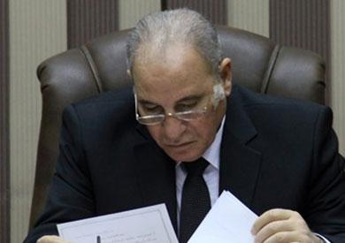 وزير العدل المستشار أحمد الزند