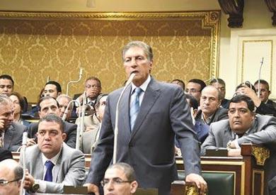 سعد الجمال الرئيس المؤقت لائتلاف «دعم مصر»، ورئيس لجنة الشئون العربية فى مجلس النواب