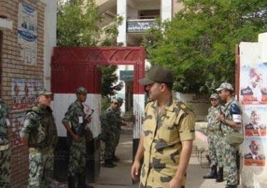 الاستعدادات الأمنية في شمال سيناء
