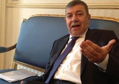 السفير عمرو حلمي سفير مصر لدى إيطاليا