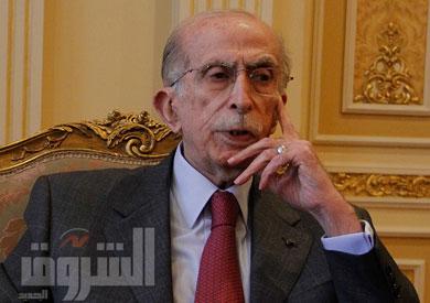 المستشار محمد أمين المهدي، وزير شئون مجلس النواب والعدالة الانتقالية