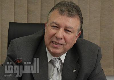 عاطف يعقوب رئيس جهاز حماية المستهلك، تصوير - جيهان نصر