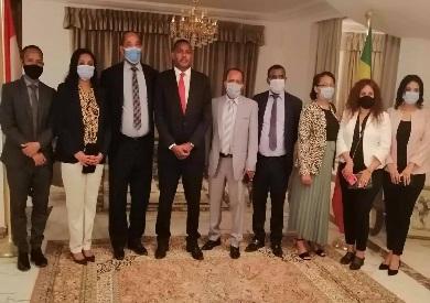 سفير أثيوبيا الجديد فى القاهرة