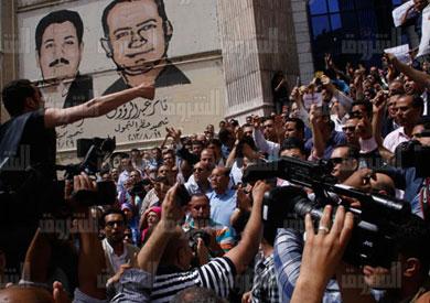 ازمة نقابة الصحفيين - تصوير: هبه خليفة
