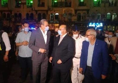 محافظ القاهرة يلتقي مساعد وزير الداخلية