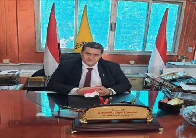 حمزه رضوان وكيل وزارة التربية والتعليم بشمال سيناء