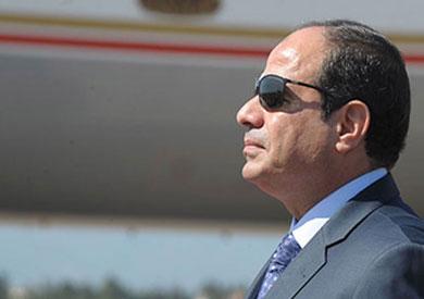 وصل الرئيس عبدالفتاح السيسي، مدينة السادس من أكتوب