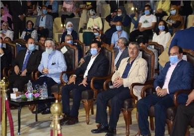 وزير الشباب يشهد الاحتفال