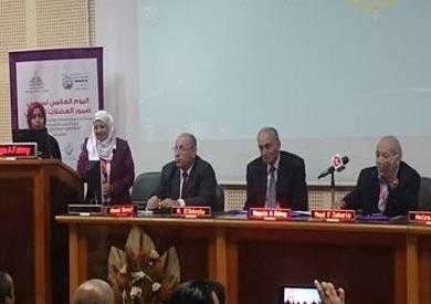 جانب  مؤتمر مركز التدريب وتطوير التعليم الذي عقد بمستشفى جامعة عين شمس