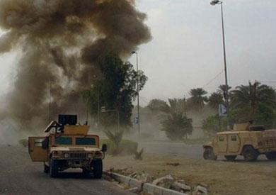 انفجار عبوة ناسفة في الشيخ زويد
