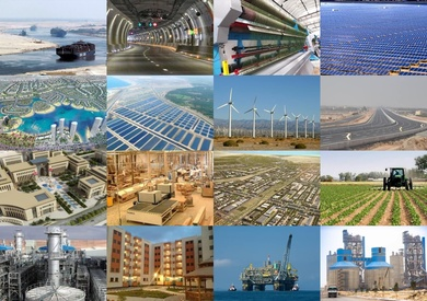 مشروعات قومية وتنموية  في عهد الرئيس السيسي