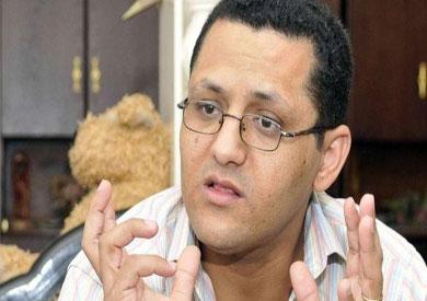 وكيل مجلس نقابة الصحفيين خالد البلشى