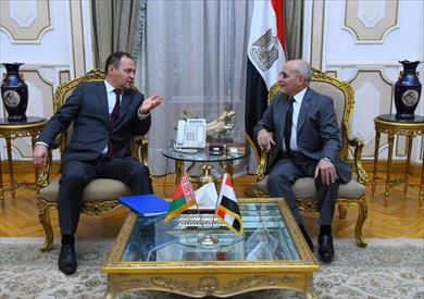 تعاون عسكرى مصرى بيلاروسى