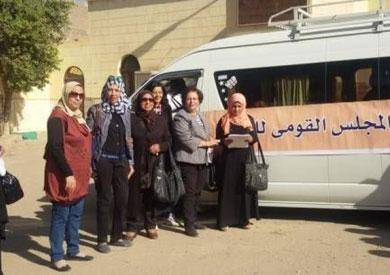 «ساندي بلدك بقوة.. الخير جاي».. حملة لطرق الأبواب لدعم المرأة في الغربية