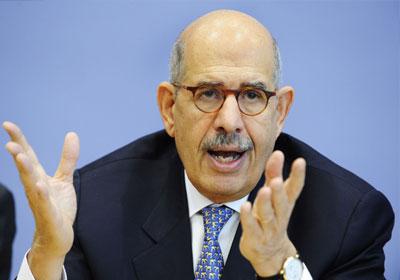 الدكتور محمد البرادعي، رئيس حزب الدستور رئيس جبهة الإنقاذ الوطني