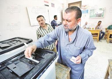الانتخابات البرلمانية بكرداسة تصوير ابراهيم عزت