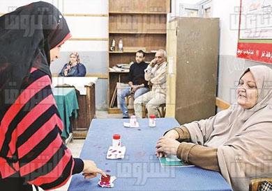 السيدة زينب مرحلة ثانية انتخابات البرلمان تصوير هبه خليفة