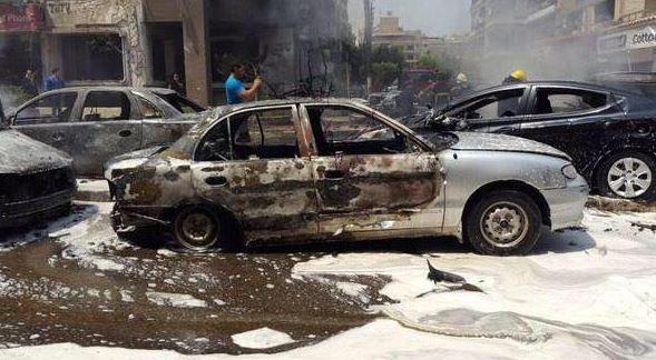 صورة متداولة للحادث على مواقع التواصل الاجتماعي