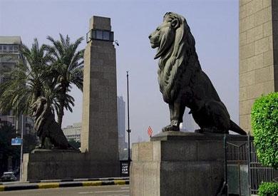 أسود كوبري قصر النيل