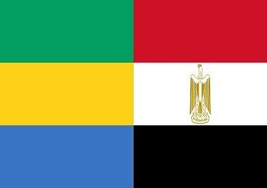 علم مصر والجابون