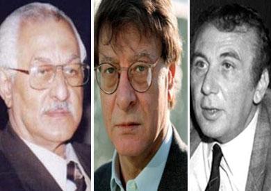 نزار قباني ومحمود درويش وأحمد شوقي