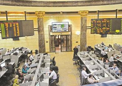 البورصة المصرية تصوير آية الخطيب
