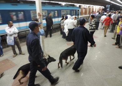 إجراءات أمنية مشددة بالمترو والسكة الحديد