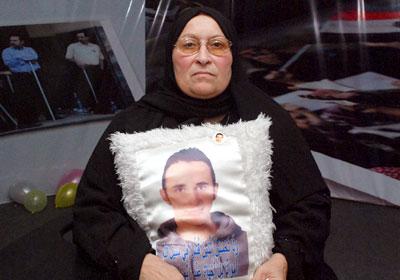 والدة الشهيد خالد سعيد