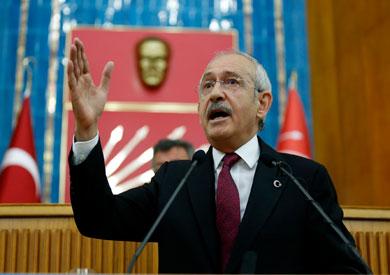 كمال كليجدار أوغلو زعيم المعارضة الرئيسية في تركيا
