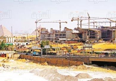 المتحف المصرى الجديد بميدان الرمايه - تصوير: مجدى ابراهيم