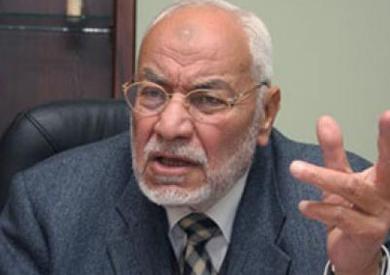 مرشد الإخوان السابق مهدى عاكف