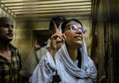 ماهينور المصري من داخل السجن