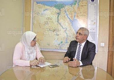 مسعد رضوان مساعد وزير التضامن للرقابة على دور الايتام - تصوير: احمد عبد الفتاح