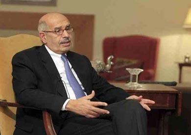 الدكتور محمد البرادعي نائب رئيس الجمهورية السابق