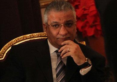 احمد زكى بدر - وزير التنمية المحلية