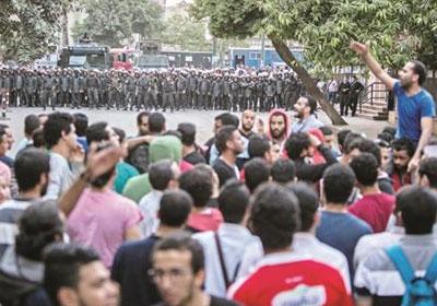 جمعة الارض هى العرض تصوير ابراهيم عزت