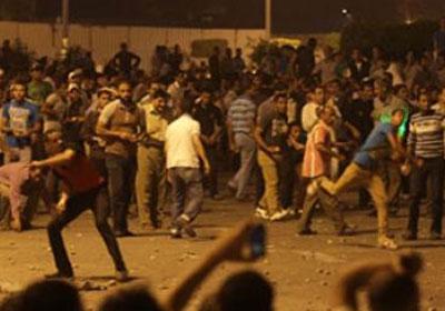 إصابة اشتباكات مؤيدي مرسي ومعارضيه