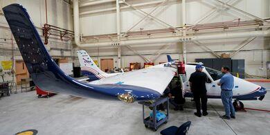 طائرة تعمل بالكهرباء