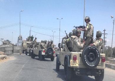قوات جيش بسيناء-ارشيفية